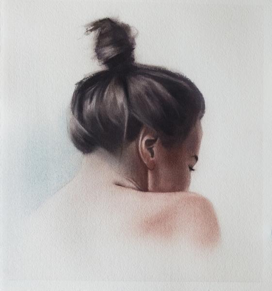 Portrait study (hair study)